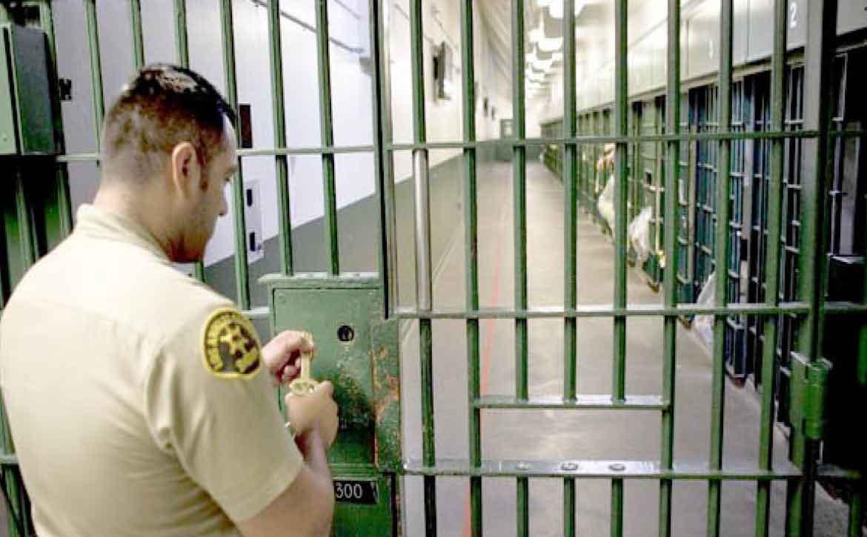 Black Lives Matter protests Los Angeles jail expansion - San Quentin