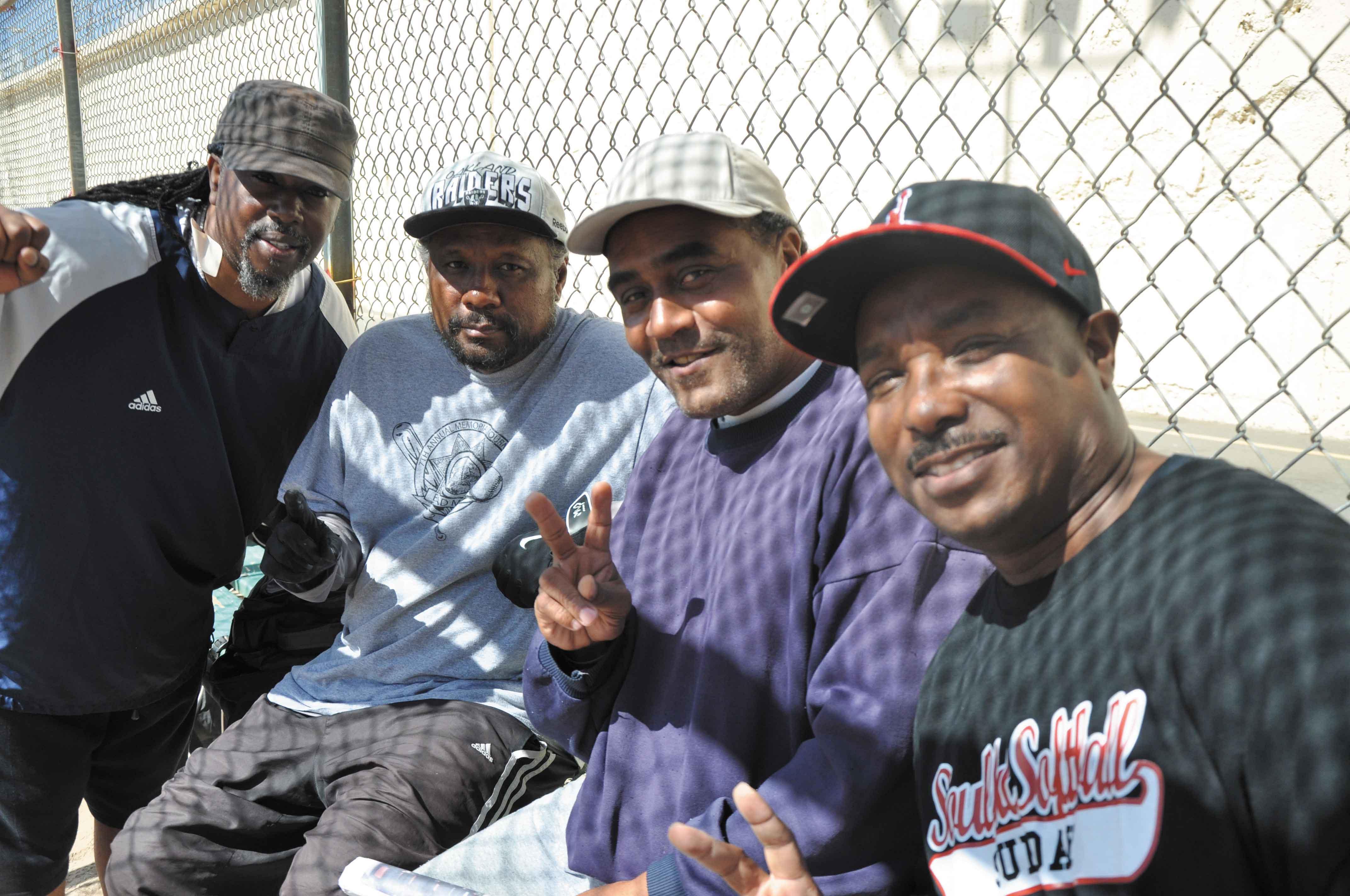 "Rodney ""Alamo"" Brown, Joe Lewis, James Wortham and Mervin Saucer"
