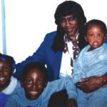 Barbara Bracy with grandkids