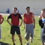 Marco Dos Santos talking to the San Quentin OGs