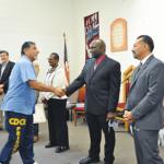 Felicitaciónes de CCIII Palmer para Enrique Hernandez