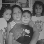Veronica Zepeda and her children
