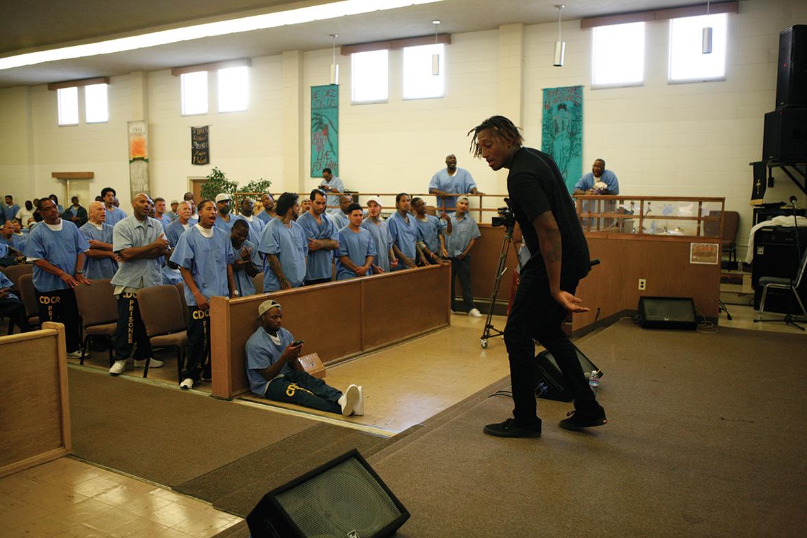 Grammy Winner LeCrae Moore's inspirational message - San Quentin News
