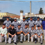 Victory baseball team at San Quentin