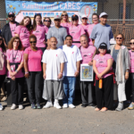 SQ CARES - Volunteers and organizers on Lower Yard
