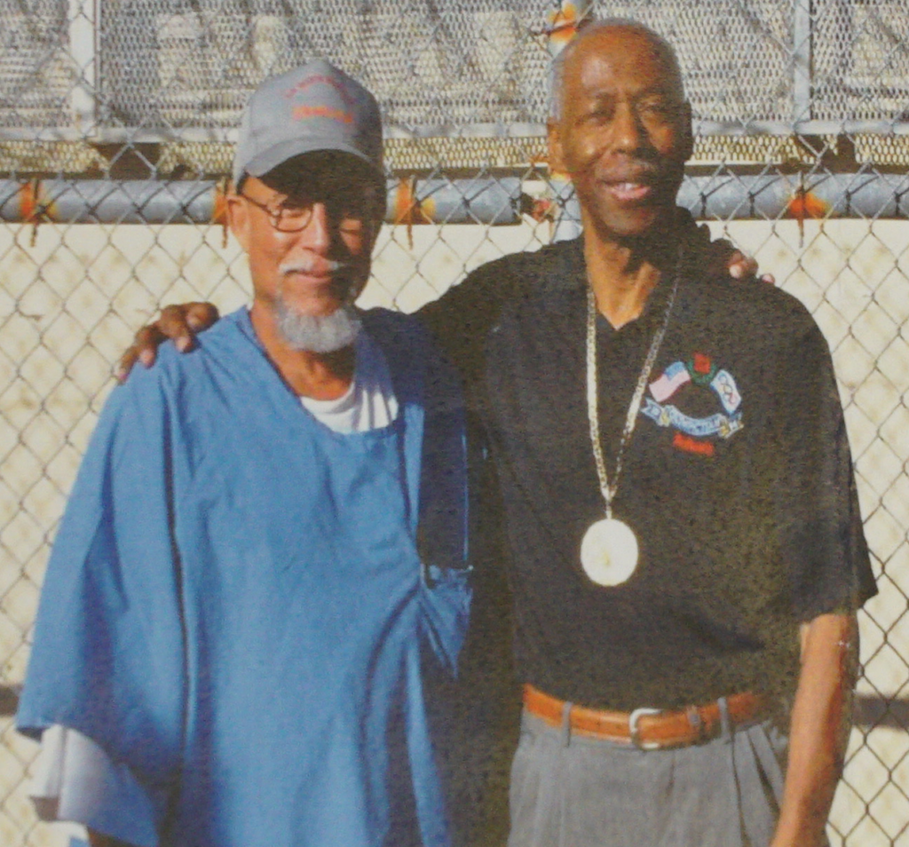 Ralph Ligons and Eddie Hart at San Quentin, 2017