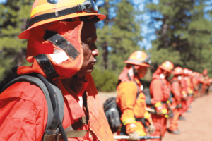 Firefighters Up for Wildfire Challenge
