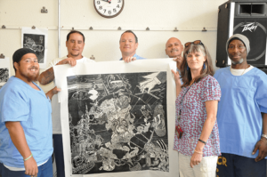 Katya McCulloch's Dedication to San Quentin Artwork