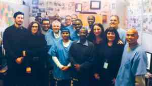 Reaching Beyond the Future and Walls of San Quentin