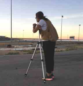 Artist Rhona Bitner Visits San Quentin to Capture Its Memory