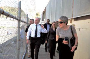 Sacramento Judge and CCPOA President Visit SQ