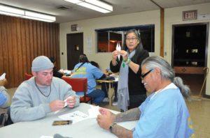 Lifers Hold Origami Workshop for Children's Hospital