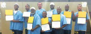 Nine Men Complete CTE Course To Prep Them for Jobs After Parole