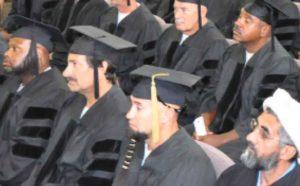 Fifty S.Q. Men Graduate