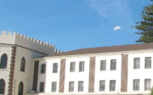 Space Shuttle's Last Flight  Soars Over the Institution