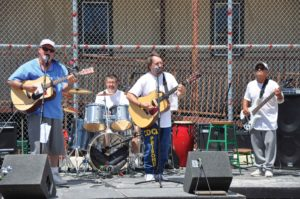 The Spirit of Freedom II Concert Rocks SQ Lower Yard