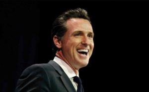 Lt. Gov. Newsom Supports Repealing  Death Penalty