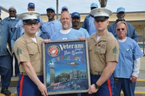 Inmate vets pitch in again to help Marines' Toys for Tots