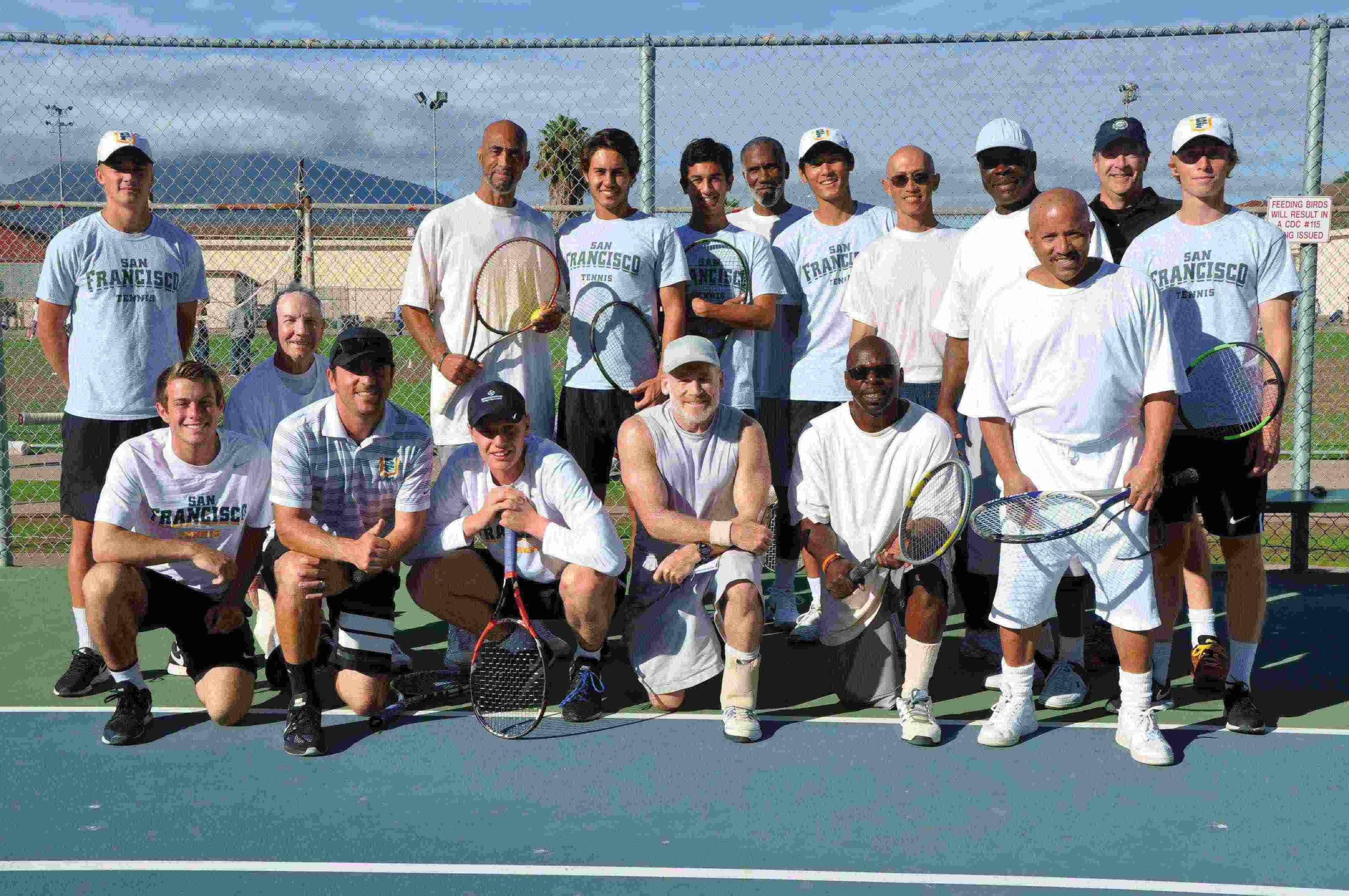 USF tennis team loves its matches at San Quentin - San ...