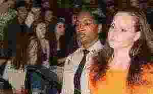 Mock crash but a real inmate jolts high school students