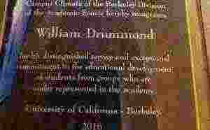 William J. Drummond receives prestigious journalism award
