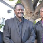 Faithful members Darryl Buckhana, John Easter and Richard Brown