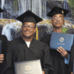 Graduates Julio Saca, Anthony Prater Sr., Louis Hunter Jr. and Edward Brooks