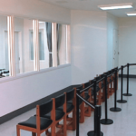 Viewing room in San Quentin's death chamber