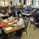 Inmates striving to become working citizens Prison to Employment Connection at San Quentin State Prison July 2017