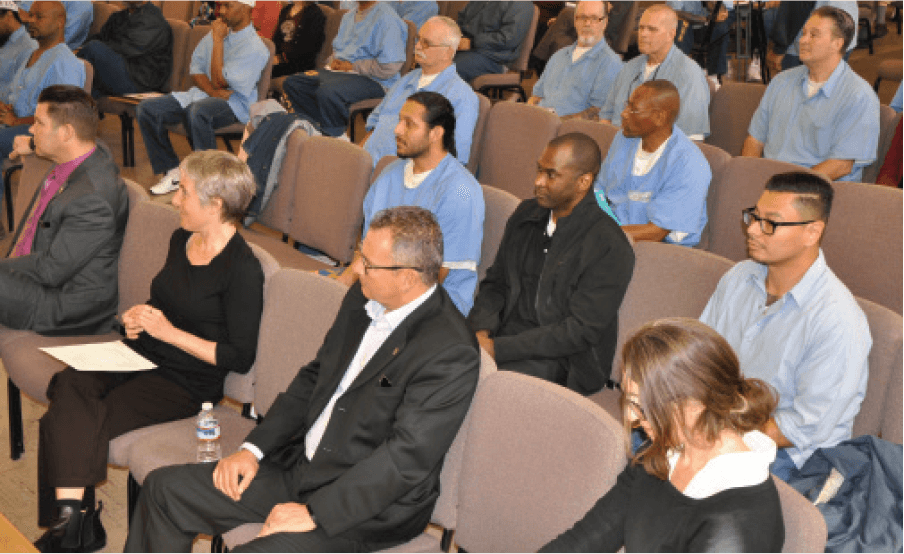 The-audience-listens-as-prisoners-give-a-number-of-recommendations-on-applying-the-guidelines-for-proposition-57
