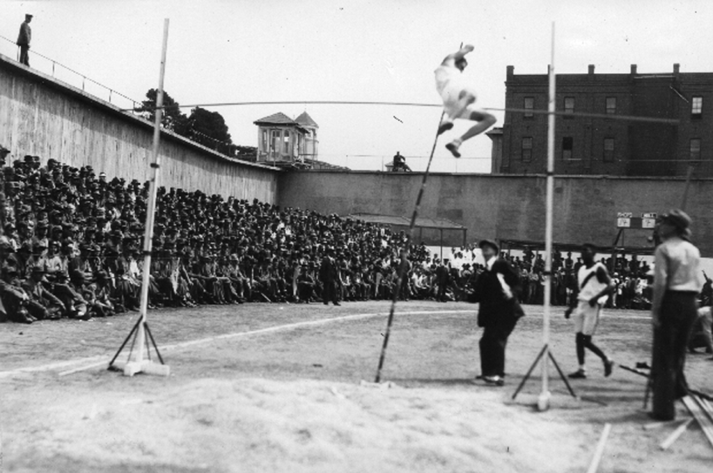 The pole-vault competition