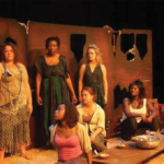 "Women in the graduate production ""She from the Sea"""