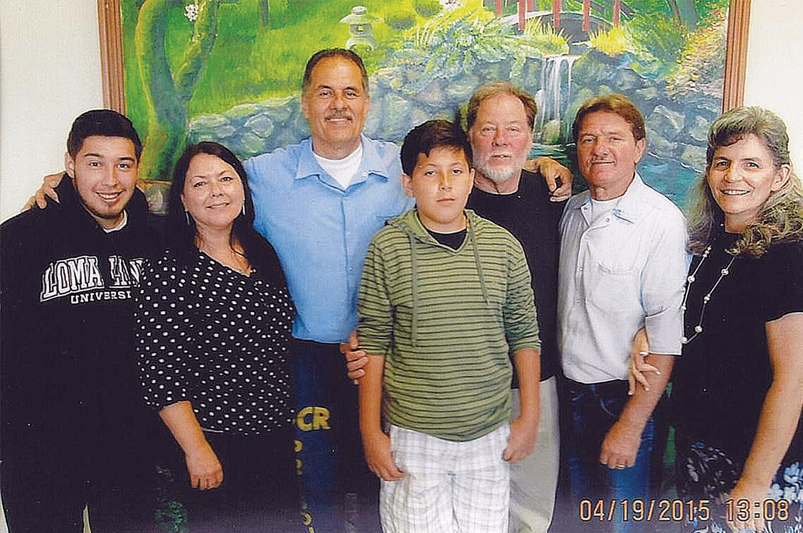 Nephew Arnulfo Garcia, Yolanda Hernandez, Arnulfo Garcia, Arturo Garcia, Jesse Garcia, Nick and Monica Garcia