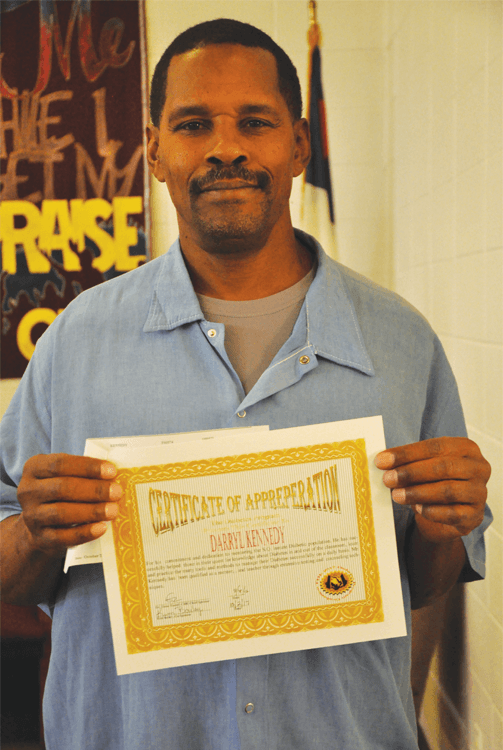 Graduate Darryl Kennedy
