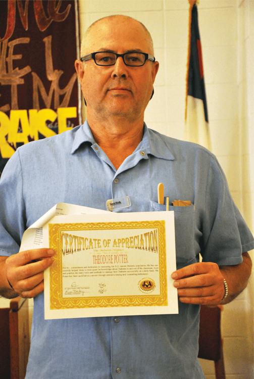 Graduate Theodore Potter