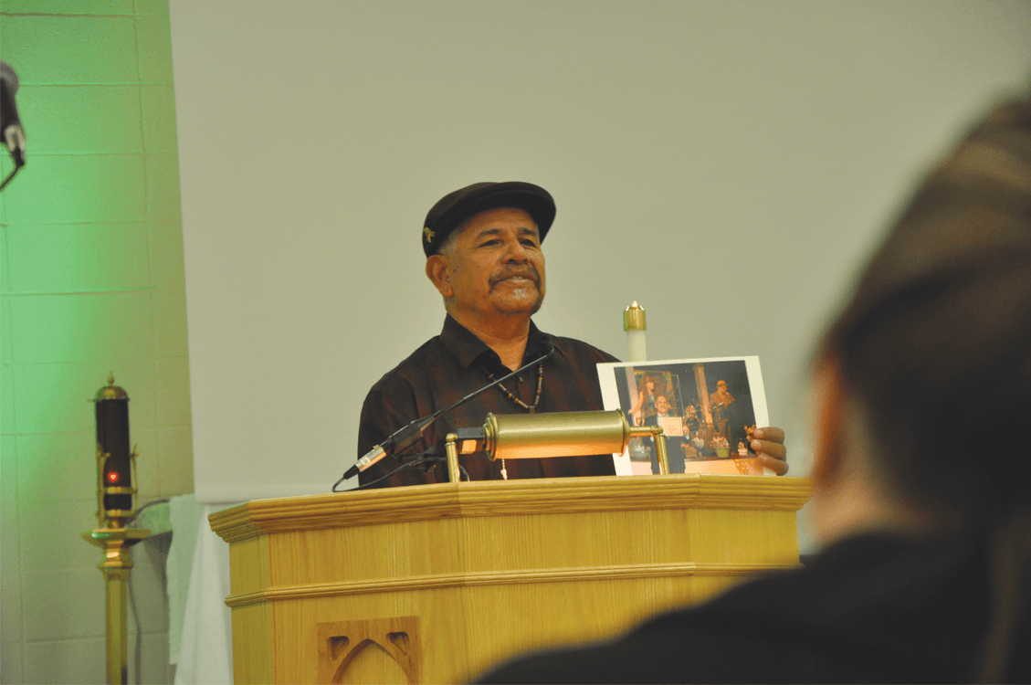 "Daniel ""Nane"" Alejandrez speaking about Arnulfo"