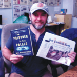 Author and Iraqi veteran Will Bardenwerper in the SQ newsroom