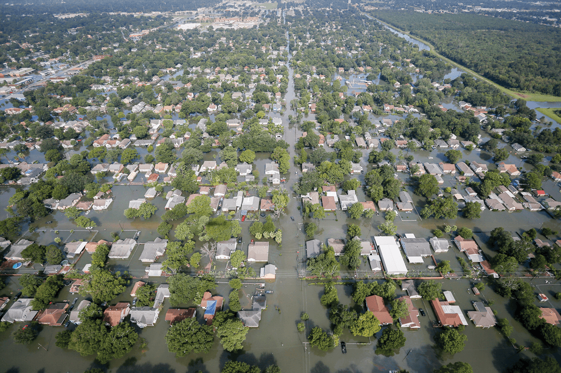 Flooding of Port Arthur, Texas, back in August