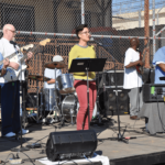 Music yard show plays to packed audience
