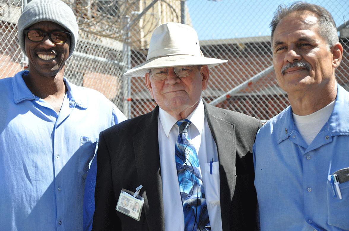 San Quentin News Adviser John Eagan