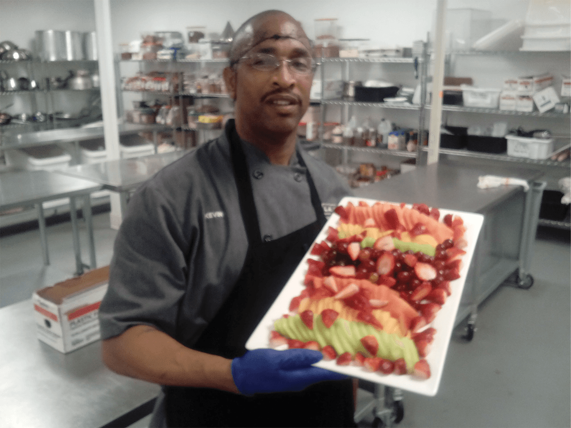 Kevin Williams in the L.A. Kitchen