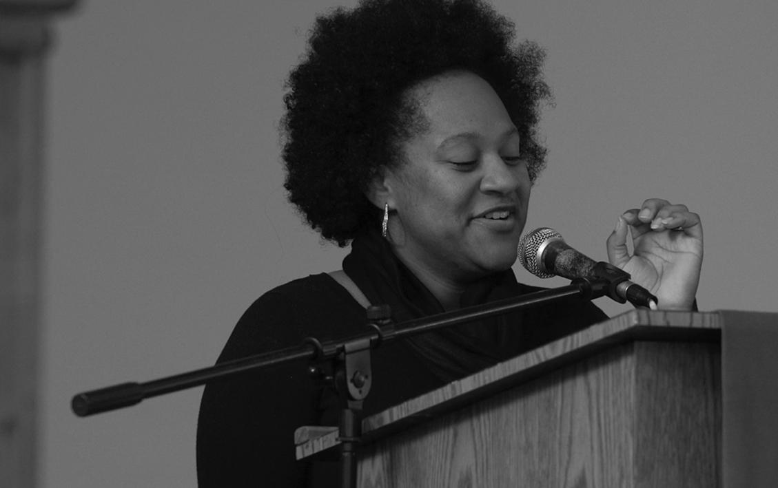 Bri Blue, spoken-word artist