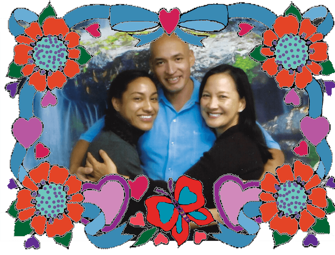 Angela, Jesse and Maria