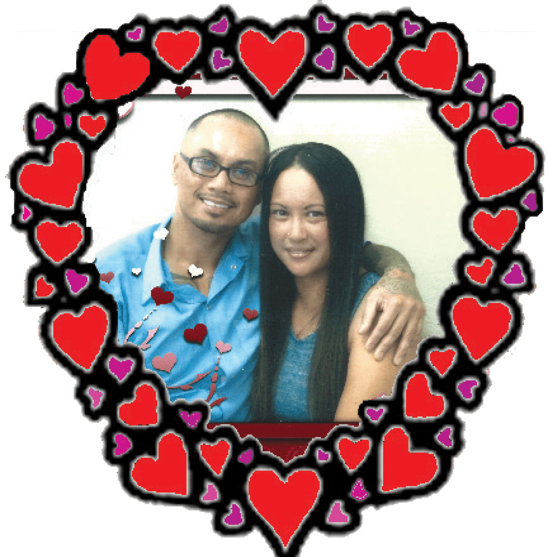 To my loving wife Renee; When I say I love you more, I don't mean I love you more than you love me. I mean I love you more than the bad days ahead of us. I love you more than any fight we will ever have. I love you more than the distance between us. I love you more than any obstacle that could try and come between us. I love you the most! Romeo and Renee Bacos