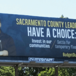 Reggie Hola on a billboard in SacramentoGolden