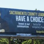 Reggie Hola on a billboard in SacramentoGolden