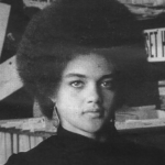 Kathleen Cleaver, secretary of information for the Black Panther Party for Self-Defense