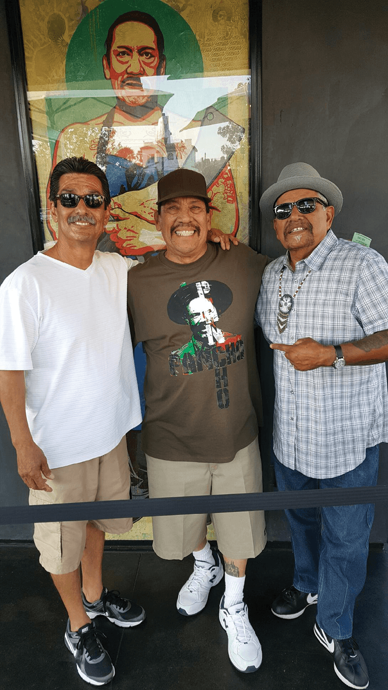 A friend of Danny Trejo, Trejo himself and Daniel 'Nane' Alejandrez