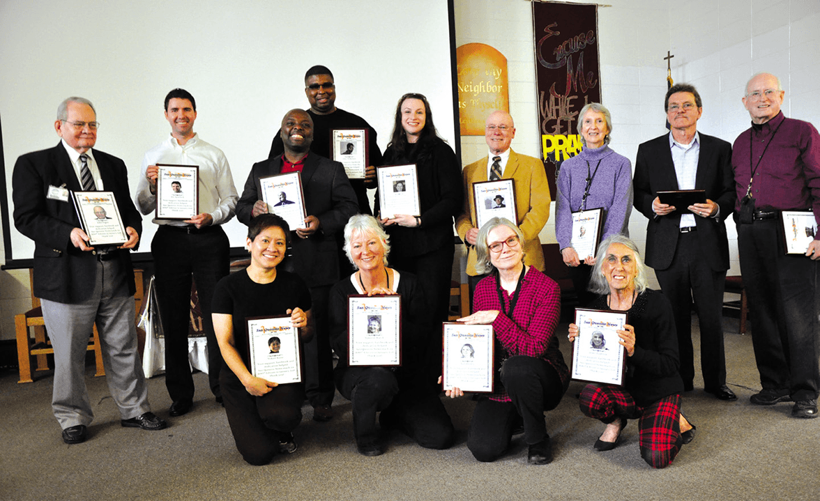 Supporters, volunteers and advisors honored for their contributions to and for the SQ News