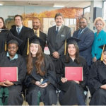 Back row: Representatives from Hudson Link, DOCCS, and Nyack College. Front row: Taconic graduates